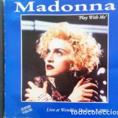 CDs de Música: CD MADONNA : PLAY WITH ME - LIVE WE,BLEY 1990. Lote 210326057