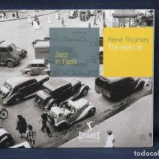 CD di Musica: RENE THOMAS - THE REAL CAT - JAZZ IN PARIS - CD. Lote 210327538