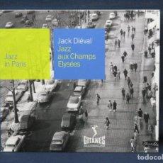 CD di Musica: JACK DIEVAL - JAZZ AUXCHAMPS ELYSEES - JAZZ IN PARIS - CD. Lote 210327730