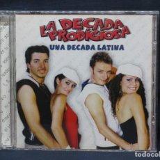 CDs de Música: LA DECADA PRODIGIOSA - UNA DECADA LATINA - CD. Lote 210328241