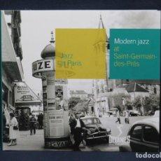 CD di Musica: MODERN JAZZ AT SAINT- GERMAIN - DES - PRES - JAZZIN PARIS - CD. Lote 210328442