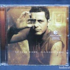 CDs de Música: ALEJANDRO SANZ - NO ES LO MISMO - CD. Lote 210328768