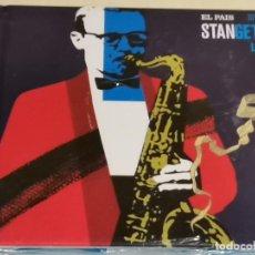 CDs de Música: STAN GETZ / ESTRELLAS DEL JAZZ 24 / EL PAIS / LIB. 60 PÁG./ PRECINTADO.. Lote 210329068