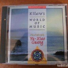 CDs de Música: KITARO'S - WORLD OF MUSIC - FEATURING YU-XIAO GUANG. Lote 210335835