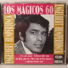 CDs de Música: CD/ LOS MÁGICIS 60/ ENGELBERT HUMPERDINCK/ VERSION OROGINAL/ AÑO 1997/ (REF.A). Lote 210347742