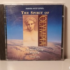 CDs de Música: CD/ THE SPIRIT OF OLIMPIA/ DAVID ARKENSTONE, KOSTIA WITH DAVID LANZ/ AÑO 1992/ (REF.A). Lote 210348368