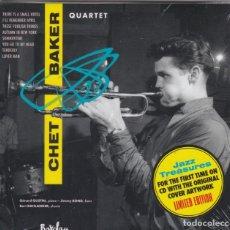 CDs de Música: CHET BAKER - QUARTET VOL. 2 (DELUXE MINI-LP GATEFOLD REPLICA) - CD DIGIPACK PRECINTADO. Lote 210369680