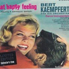 CDs de Música: BERT KAEMPFERT AND HIS ORCHESTRA - THAT HAPPY FEELING - CD DIGIPACK PRECINTADO. Lote 210371115