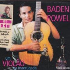 CDs de Música: BADEN POWELL - UM VIOLÃO NA MADRUGADA + APRESENTANDO BADEN POWELL - CD DIGIPACK PRECINTADO. Lote 210374905