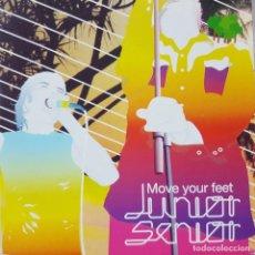 CDs de Música: JUNIOR SENIOR - MOVE YOUR FEET - DUO DE DINAMARCA - DANCE - FUNKY - CD PROMOCIONAL. Lote 210396722