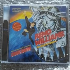 CDs de Música: REMO WILLIAMS THE ADVENTURE BEGINS SOUNDTRACK CD - NUEVA - CRAIG SAFAN - 35TH ANNIVERSARY NEW. Lote 210351123