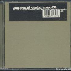 CDs de Música: AUTECHRE ?– TRI REPETAE – CD 1995. Lote 210424028