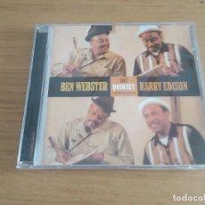CDs de Música: BEN WEBSTER THE QUINTET. Lote 210432603