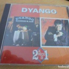 CDs de Música: RAR CD. DYANGO. BIENVENIDO AL CLUB & SUSPIROS. 2 EN 1. HISPAVOX. 1994. Lote 210433455