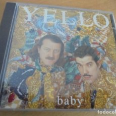 CDs de Música: RAR CD. YELLO. BABY. MERCURY. 1991. Lote 210437466