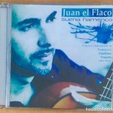 CDs de Música: JUAN EL FLACO - SUENA FLAMENCO - CON TOMATITO, GUADIANA.... Lote 210456026