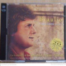 CDs de Música: BRAULIO (CANTO A CANARIAS) 2 CD'S 1995 - LOS SABANDEÑOS, MESTISAY Y AÑORANZA. Lote 210472767