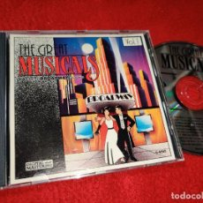 CDs de Música: THE GREAT MUSICALS VOL.1 14 ALL TIME BROADWAY FAVORITES BSO OST MUSICAL CD CANADA. Lote 210473762