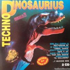 CDs de Música: VA - TECHNO DINOSAURIUS - 2XCD (1993). Lote 210474292