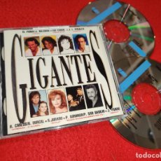 CDs de Música: GIGANTES 2CD 1992 IGLESIAS+JURADO+LUZ CASAL+PERALES+PARDO+AZUCAR MORENO+RAPHAEL+DYANGO+COBOS. Lote 210474931
