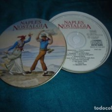 CDs de Música: NAPLES NOSTALGIA. ITALY´S FAVOURITE SONGS. CD EN CAJA METALICA. (#). Lote 210478895
