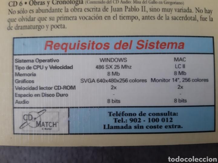 CDs de Música: CD AUDIO+CD ROM JUAN PABLO II ( El Papa Prometido), contiene la voz del.Papa rezando el Rosario - Foto 3 - 210479060