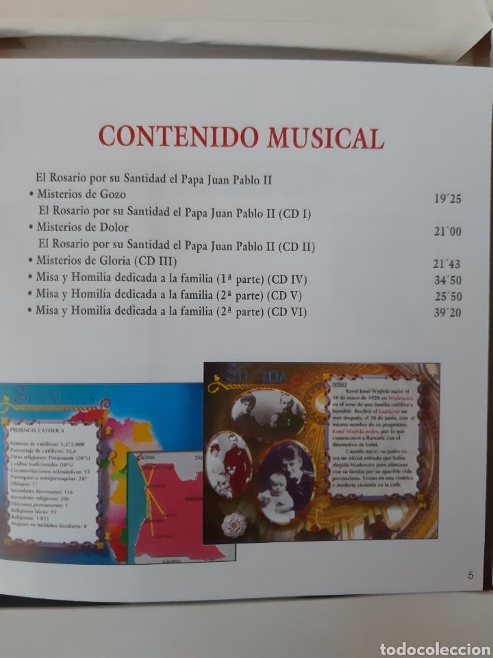 CDs de Música: CD AUDIO+CD ROM JUAN PABLO II ( El Papa Prometido), contiene la voz del.Papa rezando el Rosario - Foto 5 - 210479060