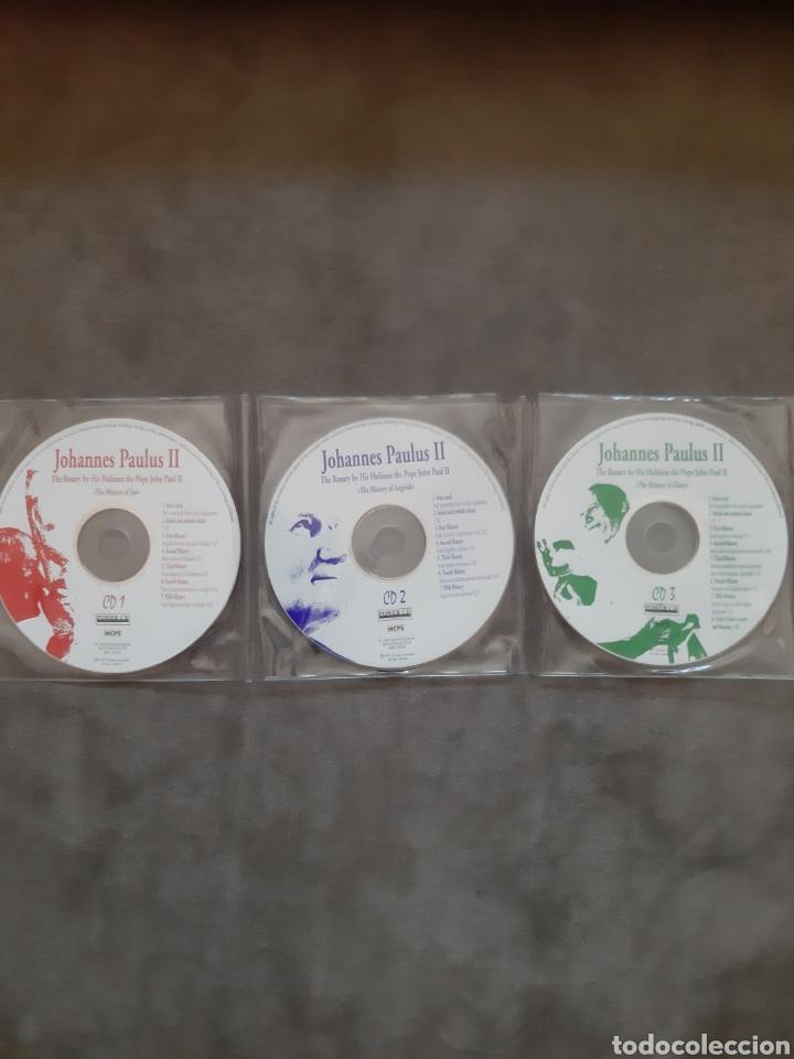 CDs de Música: CD AUDIO+CD ROM JUAN PABLO II ( El Papa Prometido), contiene la voz del.Papa rezando el Rosario - Foto 7 - 210479060