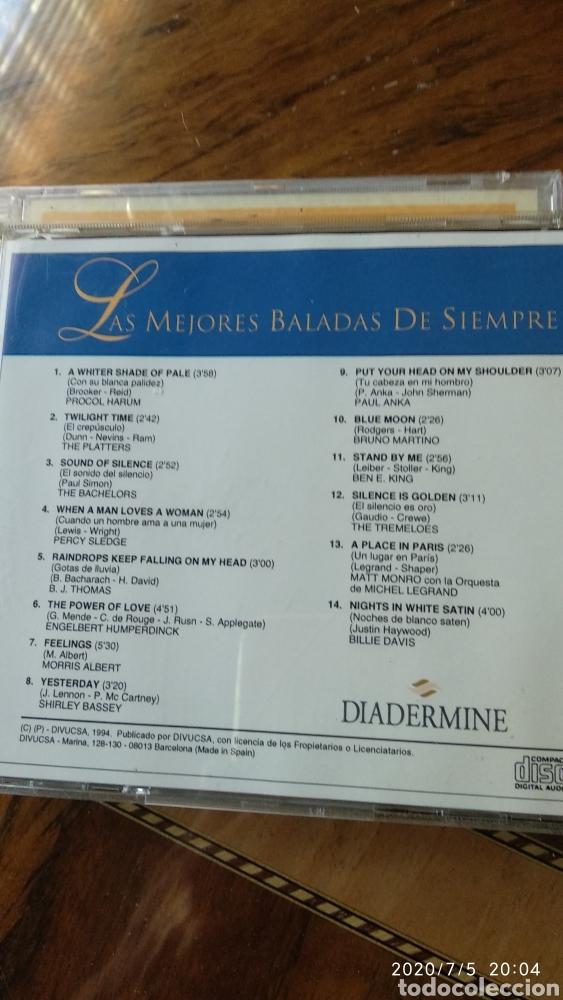 LAS MEJORES BALADAS (Música - CD's Melódica )