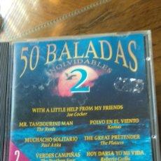 CDs de Música: BALADAS 2 Y 3. Lote 210485118