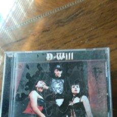 CDs de Música: D-WILL. Lote 210485261