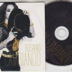 CDs de Música: ROSARIO FLORES CD SINGLE PROMOCIONAL ESTOY CAMBIANDO 2010 MUY RARO. Lote 210518392