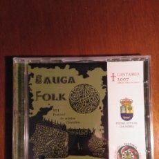 CDs de Música: CD SAUGA FOLK 2007. CANTABRIA. Lote 210556630
