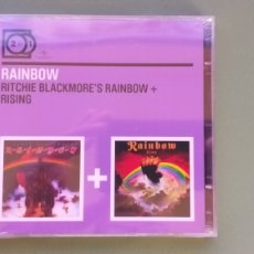 CDs de Música: RAINBOW ‎CD 2 FOR 1 RITCHIE BLACKMORE'S RAINBOW + RISING NUEVO + 5€ ENVIO C.N. Lote 210559253