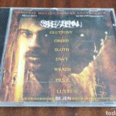 CDs de Música: CD PELICULA SEVEN BRAT PITT BSO OST SOUNDTRACK 1995. Lote 210564253