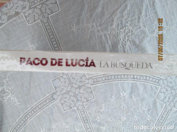CDs de Música: PACO DE LUCIA , LA BUSQUEDA - 2 CD &DVD PRECINTADO - DOCUMENTAL CURRO SANCHEZ - Foto 3 - 210581056