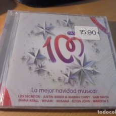 CDs de Música: RAR CD. LA MEJOR NAVIDAD MUSICAL. MARIAH CAREY, WHAM, ELTON JOHN. SEALED. Lote 210581113