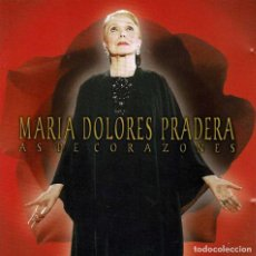 CDs de Música: MARÍA DOLORES PRADERA - AS DE CORAZONES. CD. Lote 210582448