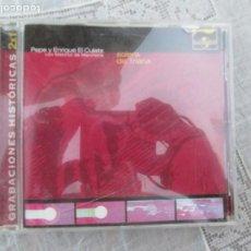 CDs de Música: ENRIQUE EL CULATA Y PEPE EL CULATA - SOLERA DE TRIANA CD FLAMENCO - 1999 UNIVERSAL. Lote 210582535