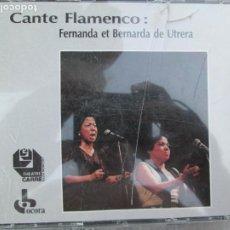 CDs de Música: FERNANDA ET BERNARDA DE UTRERA CANTE FLAMENCO 2 CD PARIS 1987 - CON LIBRETO. Lote 210583375