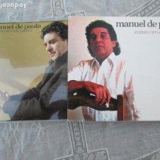 CDs de Música: MANUEL DE PAULA , COMO ORO EN PAÑO - CD FLAMENCO 2007. Lote 210585203
