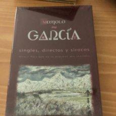 CDs de Música: MANOLO GARCIA. SINGLES, DIRECTOS Y SIROCOS. Lote 210586253