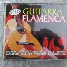 CDs de Música: GUITARRA FLAMENCA - 2 CD,S - -2000- MANOLO LABRADOR - SABICAS - CARLOS MONTOYA. Lote 210587115