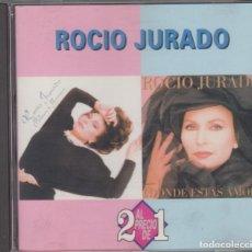 CDs de Música: ROCÍO JURADO CD PALOMA BRAVA / ¿DÓNDE ESTÁS AMOR? 1994. Lote 210588743