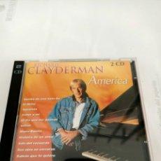 CD de Música: RICHARD CLAYDERMAN DOBLE CD AMERICA. Lote 210589821