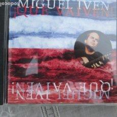 CDs de Música: MIGUEL IVEN - !QUE VAIVEN! - CD FLAMENCO - KRÜGER STUDIOS HAMBURG. Lote 210590290