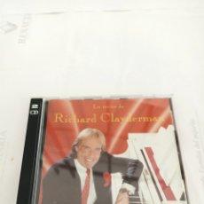 CD de Música: RICHARD CLAYDERMAN LO MEJOR DOBLE CD. Lote 210590596