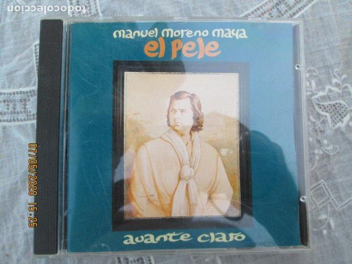 MANUEL MORENO MAYA - EL PELE- AVANTE CLARO ,CD ALBUM DEL AÑO 1995 CONTIENE 9 TEMAS MUY RARO (Música - CD's Flamenco, Canción española y Cuplé)