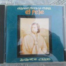 CDs de Música: MANUEL MORENO MAYA - EL PELE- AVANTE CLARO ,CD ALBUM DEL AÑO 1995 CONTIENE 9 TEMAS MUY RARO. Lote 210590696