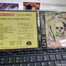 CDs de Música: PINK FLOYD CD LIVE AT POMPEII 1972. Lote 210593887